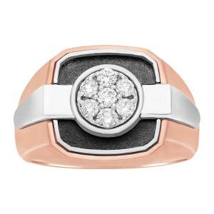 Two-Tone Mens Fashion Ring 59265XXX4X