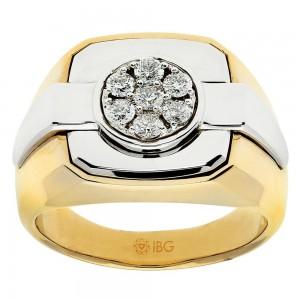 Two-Tone Mens Fashion Ring 59271XXX4X
