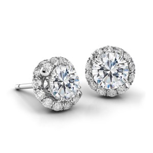 Swirl Diamond Earrings