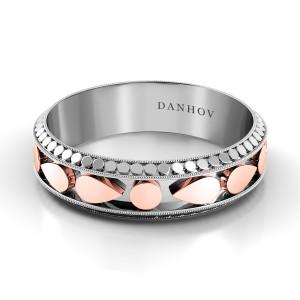 Domed Wedding Ring for Men TM123-6