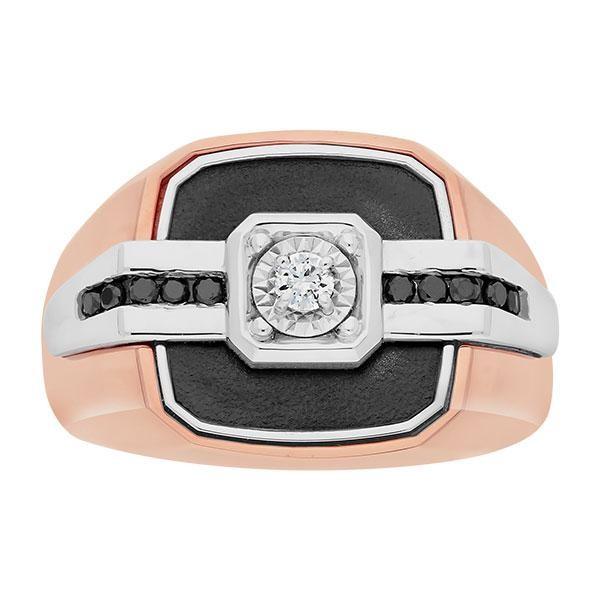 Two-Tone Mens Fashion Ring 59264XXX4X