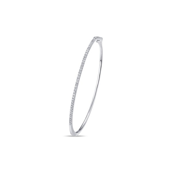 14k White Gold Ladies Bracelet BNG00108-RD.W