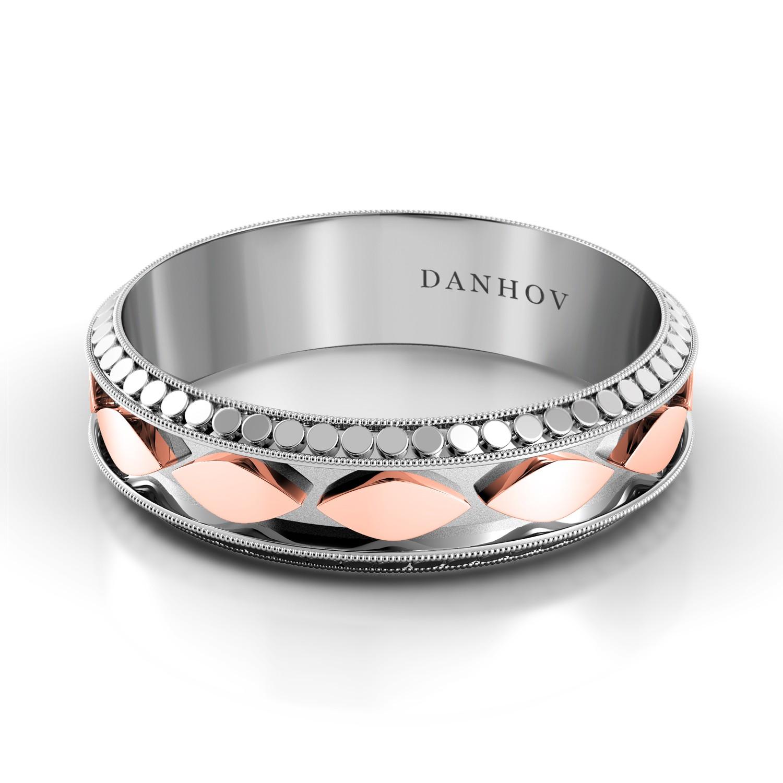 Domed Wedding Ring for Men TM124-6