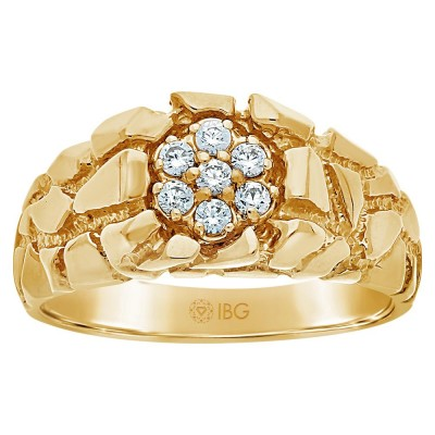 10k Yellow Gold Mens Fashion Ring 05935-CL0Xi