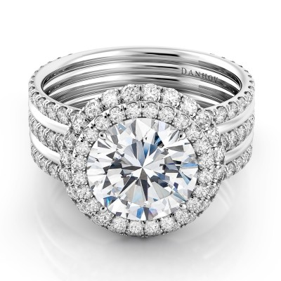 Luxury Diamond Engagement Ring