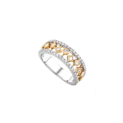 Two-Tone Ladies Fashion Ring LR7229H4UW