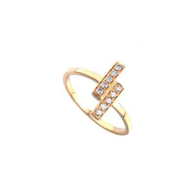 14k Yellow Gold Ladies Fashion Ring LR9287B4YW