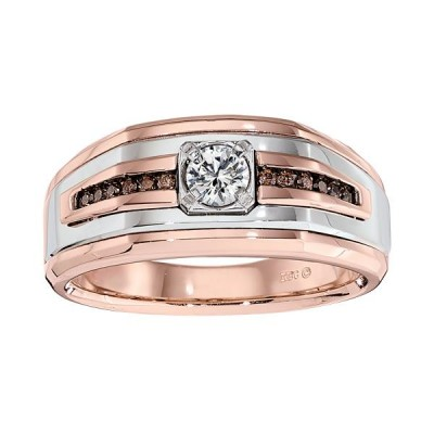 Two-Tone Mens Wedding Band 64029XGW4X