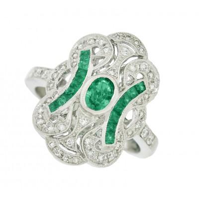 White Gold Ladies Fashion Ring 8WR10776(A)-D,E