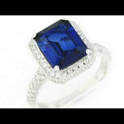Ladies Fashion Ring 8WR1167(A)D,D,SYN(10X8EC)