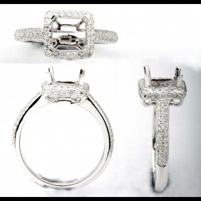 Ladies Fashion Ring 8WR1174(A)(7.0EC)-D,D,M