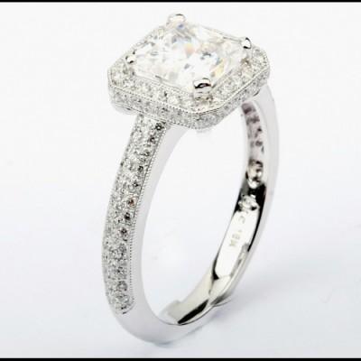 Ladies Fashion Ring 8WR1239(A)(7.0EC)-D,D,M