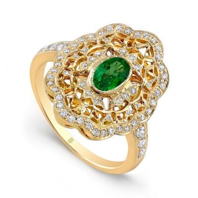Yellow Gold Ladies Fashion Ring R10499