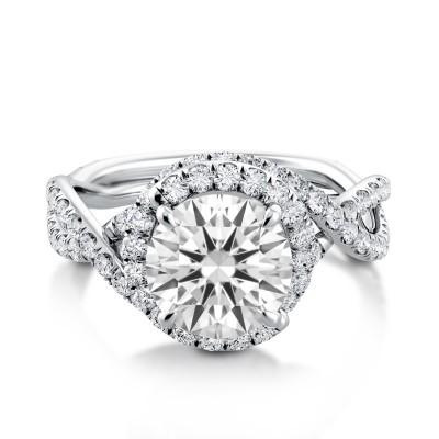 Swirl Engagement Ring AE512UQ