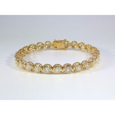 14k Yellow Gold Ladies Bracelet B3692
