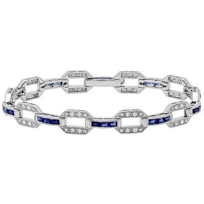 White Gold Ladies Bracelet B9936-D,S