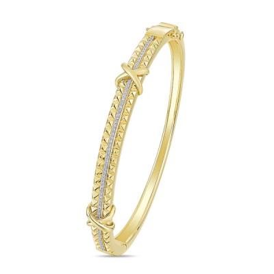 14K Yellow Gold Ladies Bracelet BNG00275