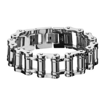 Long Bar Motor Chain Bracelet