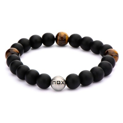 Tiger's Eye Stone Bead Bracelet