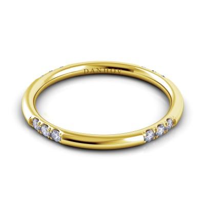 Round Diamond Wedding Ring for Women