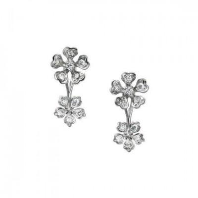 Bloom Diamond Floral Earrings