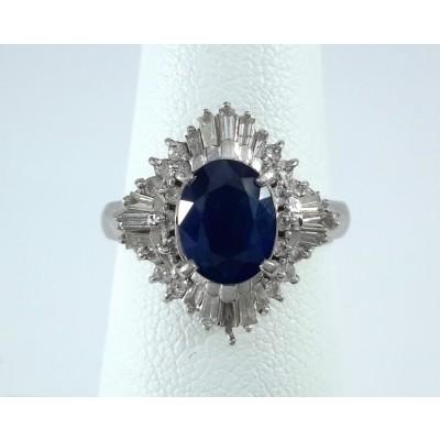 Platinum Ladies Fashion Ring R10023