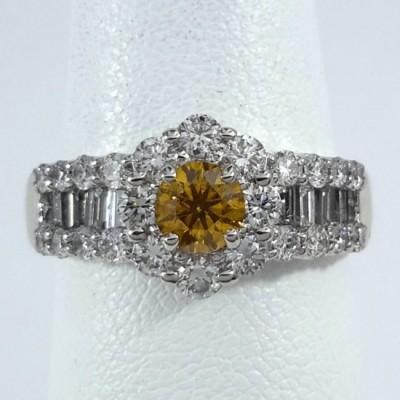 Platinum Ladies Fashion Ring R10037