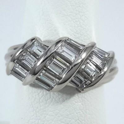 Platinum Ladies Fashion Ring R10069