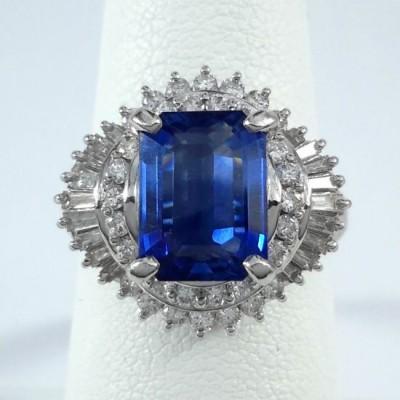 Platinum Ladies Fashion Ring R10070