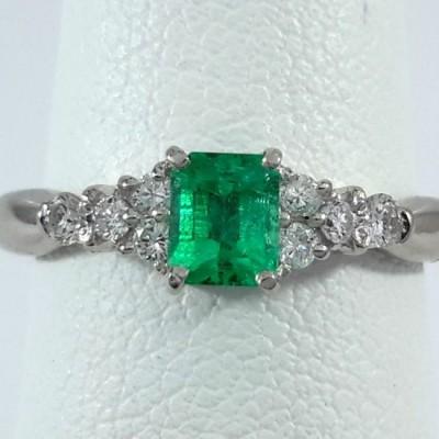 Platinum Ladies Fashion Ring R10073