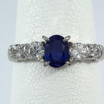 Platinum Ladies Fashion Ring R10076