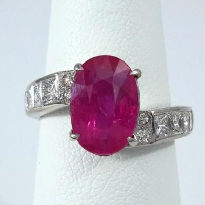 Platinum Ladies Fashion Ring R10082