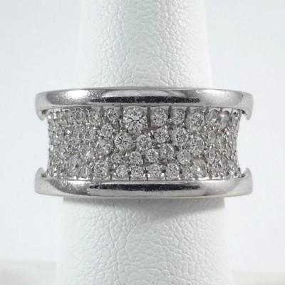 18k White Gold Ladies Fashion Ring R10096