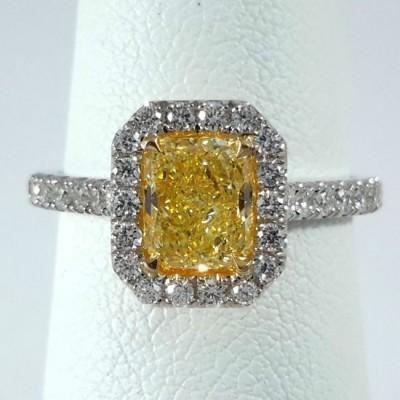 Two-Tone Ladies Fashion Ring R10099