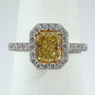 Two-Tone Ladies Fashion Ring R10100