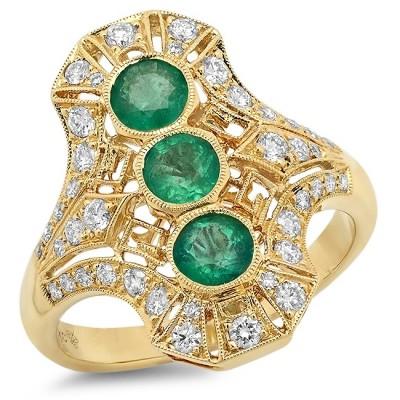 Yellow Gold Ladies Fashion Ring R10531