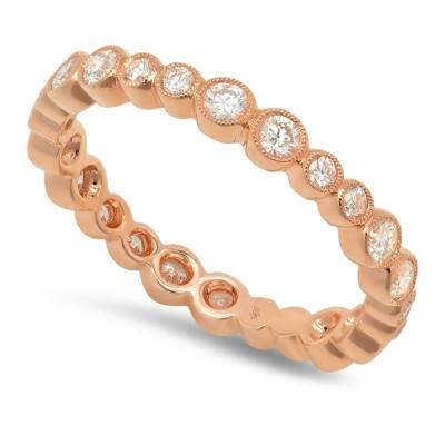 Rose Gold Ladies Fashion Ring R11756