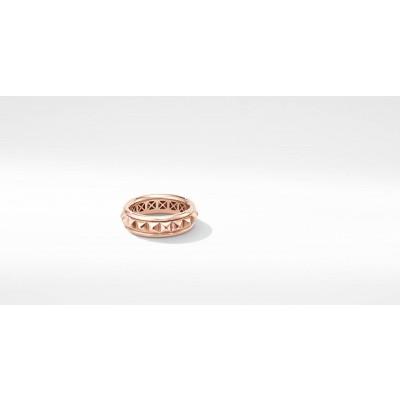 Modern Renaissance Pyramid Ring in 18K Rose Gold