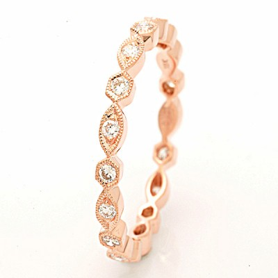 Rose Gold Ladies Bands R157-D,D