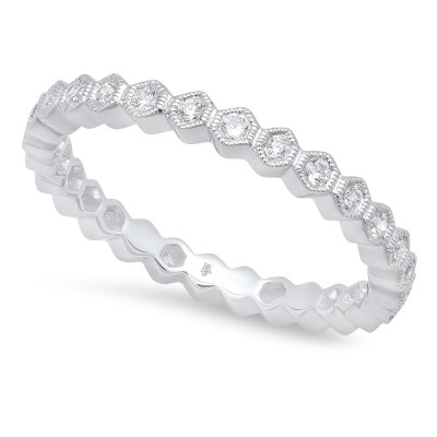 White Gold Ladies Bands R160-D,D