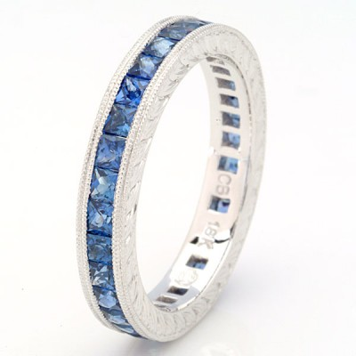 White Gold Ladies Bands R166-S,S