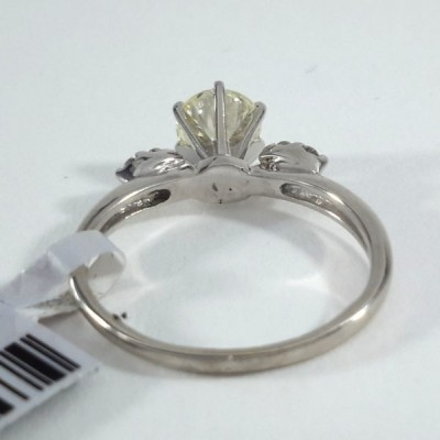 14k White Gold Ladies Fashion Ring R9912
