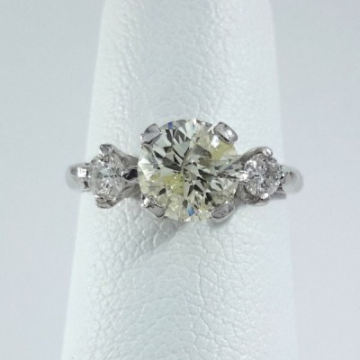 Platinum Ladies Fashion Ring R9933