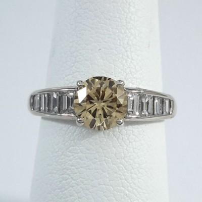 Platinum Ladies Fashion Ring R9962