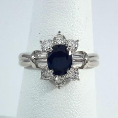 Platinum Ladies Fashion Ring R9963