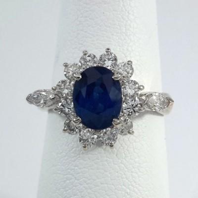 Platinum Ladies Fashion Ring R9964