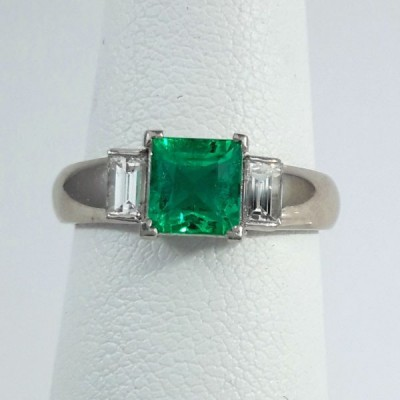 Platinum Ladies Fashion Ring R9965