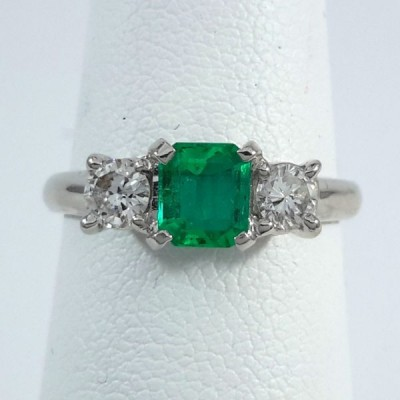 Platinum Ladies Fashion Ring R9967