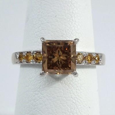 18k White Gold Ladies Fashion Ring R9968