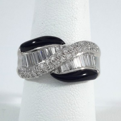 Platinum Ladies Fashion Ring R9969